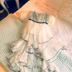 FP Cascading Ruffles Dress
